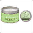 Soy Candle & Solid Perfume Gift Set By Soul Purpose