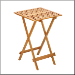 Wood Folding Tray Table (SKU: 10015744)