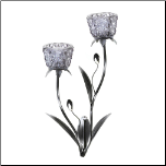 Silver Mist Wall Sconce