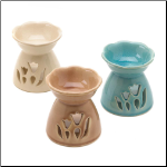 Floral Oil Warmer Trio