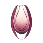 Wild Orchid Art Glass Vase (SKU: 10016152)