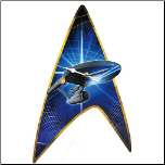 Star Trek Enterprise Wall Clock (SKU: 10016298)