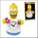 Simpsons Homer Simpson Animated Clock (SKU: 10016327)