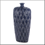 Deep Blue Tall Lip Vase (SKU: 10017154)