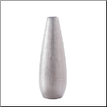 Zeal Silver Tall Vase