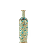 Tall Peacock Jewel Vase (SKU: 10017162)
