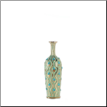 Medium Peacock Jewel Vase (SKU: 10017163)