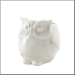 Friendly White Owl Vase (SKU: 10017167)