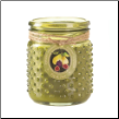 Fig And Pear Hobnail Jar Candle