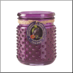 Plum Berry Hobnail Jar Candle