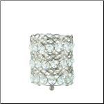 Eternity Small Glass  Candleholder