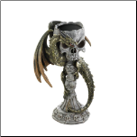 Green Dragon Candleholder