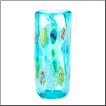 Blue Floral Straight Vase (SKU: 10017381)
