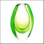 Emerald Art Glass Vase (SKU: 10017383)