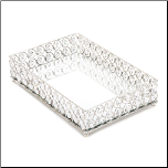 Shimmer Rectangular Jeweled Tray (SKU: 10017443)