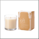 Loft Bergere Leather Candle