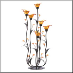 Amber Calla Lilly Candleholder