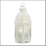 Lattice Lantern, White