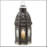 Lattice Lantern, Black