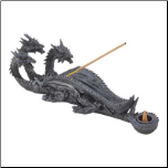 Triple-Head Dragon Incense Burner (SKU: 13830)