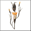 Dawn Lily Wall Sconce