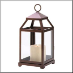 Bronze Contemporary Lantern