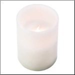 Classic White Flameless Candle