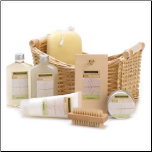Lemongrass Eucalyptus Spa Set