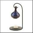 Blue Tear Drop Oil Warmer