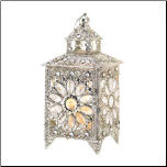 Crown Jeweled Candle Lantern