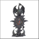 Black Dragon Mantel Clock (SKU: 15257)
