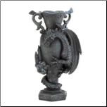 Black Dragon Decorative Vase (SKU: 15259)