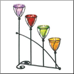 Jewel-Toned Candle Holder