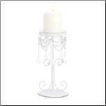Elegant Beaded Candle Holder
