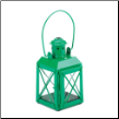 Green Railway Candle Lamp