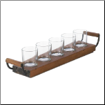 Wooden Tray Candleholder (SKU: 10017043)