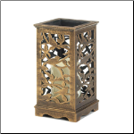 Songbird Cutout Led Candle Stand