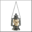 Skull Head Lantern With Led Light