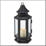 Stagecoach Lantern, Black