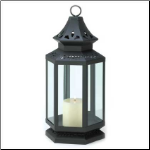 Stagecoach Lantern, Black, Large