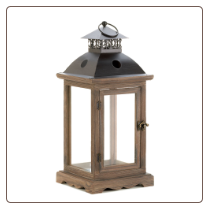 Monticello Candle Lantern Large