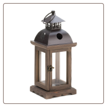 Monticello Candle Lantern Small