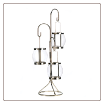 Hanging Bulbs Candleholder