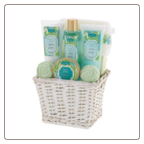 Cucumber Basil Bath Gift Set