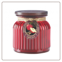 Apple Spice Ribbed Jar Candle