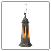 Gothic Tower Candle Lantern