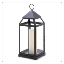 Contemporary Candle Lantern, Large