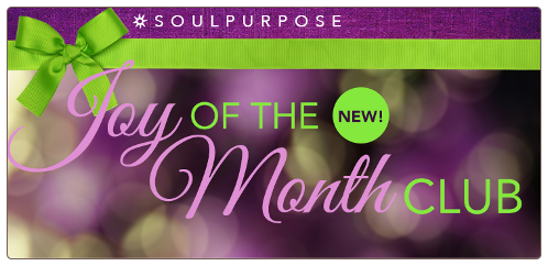 Soul Purpose Joy of the Month Club