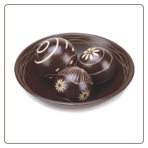 Umber Decorative Ball Set
