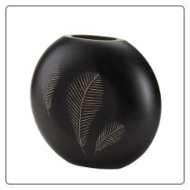 Tribal Feathers Decorative Vase
